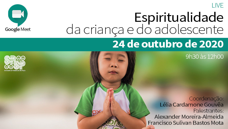 LIVE - Espiritualidade da Criança e Adolescente - Via Google Meet