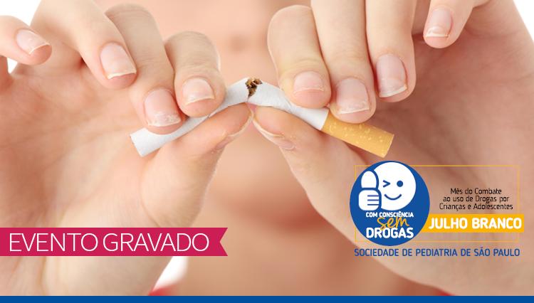 Jornada Virtual de Prevenção de Drogas - Saúde Respiratória: Efeitos do uso de maconha, narguilé, cigarro comum e eletrônico em crianças, adolescentes