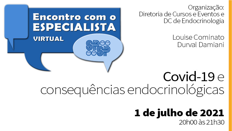 COVID-19 e consequências endocrinológicas (Zoom)