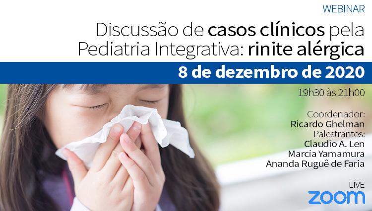 Discussão de Casos Clínicos pela Pediatria Integrativa - Rinite alérgica